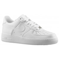 Nike Air Force 1 Low Hommes sneakers Tout blanc/blanc OLP485