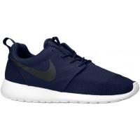 Nike Roshe One Hommes baskets bleu marin/blanc UWN761