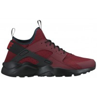 Nike Air Huarache Run Ultra Hommes sneakers rouge/noir MEK916