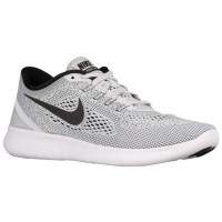 Nike Free RN Hommes chaussures de course blanc/gris ALW960