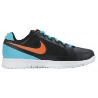 Nike Air Vapor Ace Hommes baskets noir/bleu clair KXG219