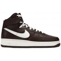 Nike Air Force 1 High Retro Hommes baskets marron/blanc NID769