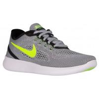 Nike Free RN Hommes chaussures gris/noir QCX306