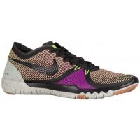 Nike Free Trainer 3.0 V4 Hommes chaussures de sport noir/vert clair SNT369