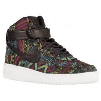 Nike Air Force 1 High Hommes sneakers noir/multicolore YXO555