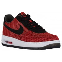Nike Air Force 1 Low Hommes chaussures Orange/noir OPF190