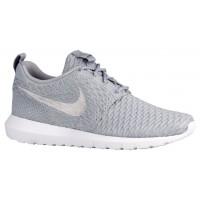 Nike Roshe One Flyknit NM Hommes chaussures de sport gris/blanc UGU284