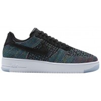 Nike Air Force 1 Ultra Flyknit Low Hommes baskets noir/multicolore PJE501
