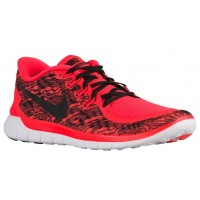 Nike Free 5.0 2015 Hommes chaussures de sport rouge/blanc JFS302