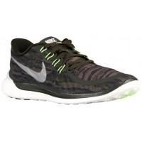 Nike Free 5.0 2015 Print Hommes sneakers vert foncé/blanc YAF384