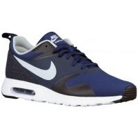 Nike Air Max Tavas Hommes chaussures de course bleu marin/blanc ELO162