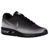 Nike Air Max Sequent Hommes chaussures noir/blanc GCV070