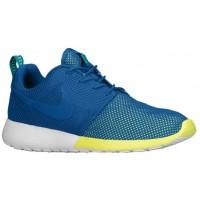 Nike Roshe One Hommes chaussures bleu/vert clair LRK077