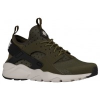 Nike Air Huarache Run Ultra Hommes baskets olive verte/noir SJI635