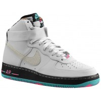 Nike Air Force 1 High Hommes chaussures de sport blanc/gris AAL924