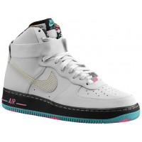 Nike Air Force 1 High Hommes chaussures de sport blanc/gris AAL924