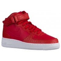 Nike Air Force 1 Mid LV8 Hommes chaussures rouge/blanc HJX202