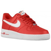 Nike Air Force 1 Low Hommes baskets rouge/blanc QTZ110