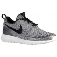 Nike Roshe One Flyknit Hommes baskets gris/noir OUC790