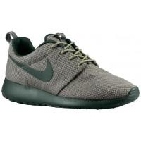 Nike Roshe One Hommes chaussures de sport vert foncé/gris RDI152