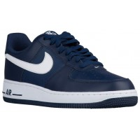 Nike Air Force 1 Low Hommes baskets bleu marin/blanc COZ058