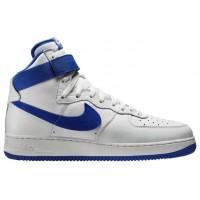 Nike Air Force 1 High Retro Hommes chaussures blanc/bleu EIY351