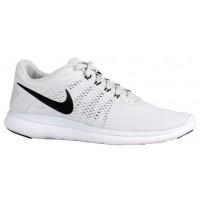 Nike Flex RN 2016 Hommes chaussures blanc/noir LMI205