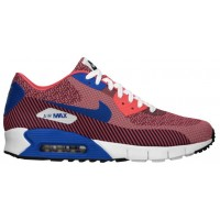 Nike Air Max 90 Hommes chaussures de course rouge/blanc KWP109