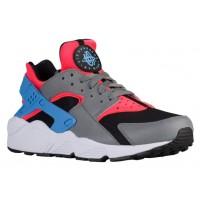 Nike Air Huarache Hommes chaussures rouge/gris FRQ431
