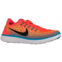 Nike Free RN Distance Hommes sneakers Orange/noir GIQ821