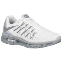Nike Air Max 2015 Hommes baskets blanc/argenté WSN424