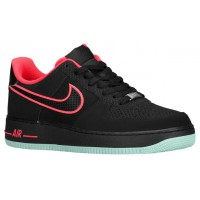 Nike Air Force 1 Low Hommes baskets noir/rose LJW447