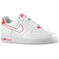 Nike Air Force 1 Low Hommes baskets blanc/rouge VUM127