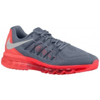 Nike Air Max 2015 Hommes sneakers gris/rouge VXO411