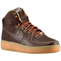 Nike Air Force 1 High Hommes sneakers marron/bronzage PTT482