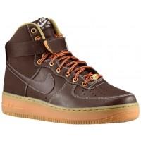 Nike Air Force 1 High Hommes sneakers marron/bronzage PTT482