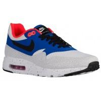 Nike Air Max 1 Ultra Essential Hommes chaussures de course blanc/bleu WOC539