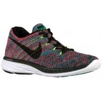 Nike Flyknit Lunar 3 Hommes chaussures de course rouge/noir VQT785