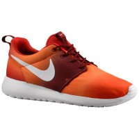 Nike Roshe One Hommes baskets Orange/rouge YEF304