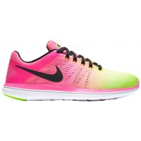 Nike Flex RN 2016 ULTD Hommes chaussures vert clair/rose QXJ778