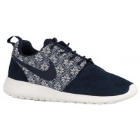 Nike Roshe One Winter Hommes chaussures de course bleu marin/blanc GBH462