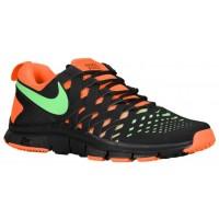 Nike Free Trainer 5.0 Weave Hommes baskets noir/vert clair OQT398