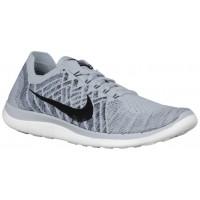 Nike Free 4.0 Flyknit 2015 Hommes baskets gris/noir YMI434