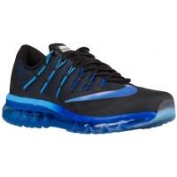 Nike Air Max 2016 Hommes chaussures de course noir/bleu clair GQT257