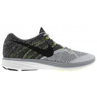 Nike Flyknit Lunar 3 Hommes baskets gris/noir IFL389
