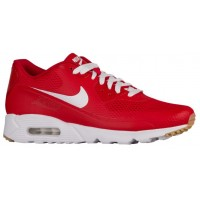 Nike Air Max 90 Ultra Essential Hommes chaussures de course rouge/blanc CKN118