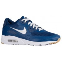 Nike Air Max 90 Ultra Essential Hommes baskets bleu marin/blanc OAD874