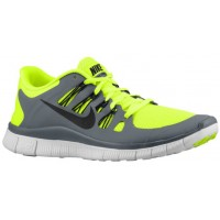 Nike Free 5.0+ Hommes baskets vert clair/gris QFE805