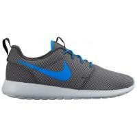 Nike Roshe One Premium Hommes chaussures de sport gris/bleu clair UWT952