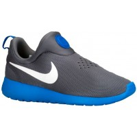 Nike Roshe One Slip On Hommes chaussures de course gris/bleu clair UAS342